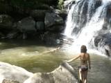 Waterfall in Ban Kong Lo