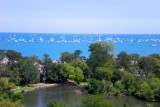 Lake Michigan over Lincoln Park, Chicago