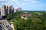 Looking North over Lincoln Park, Chicago
