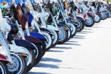 Harley Davidson 75th anniversary celebrations in Milwaukee