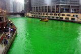 St.Patrick's Day in Chicago, Coloring of the Chicago River
