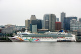 Seattle, one of the biggest ports for cruise ships