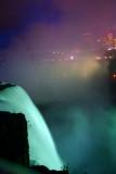 Blue light, Niagara Falls State Park