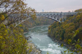 Niagara after the falls, Whirlpool State Park, NY