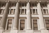 Courthouse pillars, Indianapolis