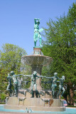 University Park - Depew Fountain by Karl Bitter,Indianapolis