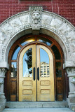 An ornate door,Indianapolis