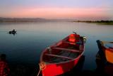 Boats on Mangla Dam