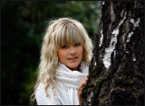 Swedish singer Sanna, 13 years old from Rottne
