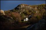 Bohus landscape seen from ferrypoint Skär to Lysekil