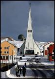 The fantastic church in Vardö
