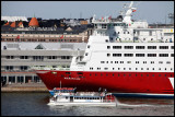 A very tall ship - Viking Lines Mariela in Helsinki harbour