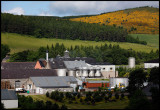 Glenfiddich distillery seen from Parkmore area