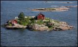 Small island near Helsinki city centre - Finland