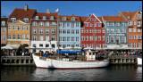 The picturesque harbour at Nyhavn - Copenhagen