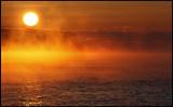 Minus 14 degrees Celcius - Dawn at Simpevarp (Baltic Sea)