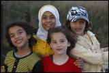 Girls in Deir ez-Zor