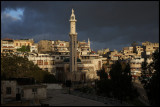 Early morning in Hama - the town that was totally destroyed by bombing in 1982