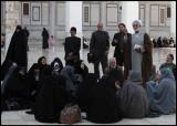 Iranian pilgrims in Ummayad Mosque