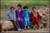 Young girls in Mheimideh near Deir ez-Zor