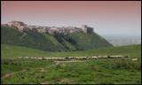 Aphamea village near the Roman ruins