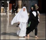 Latest fashion in Ummayad Mosque - Damsacus