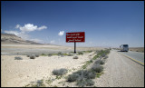 The road from Damascus to Palmyra