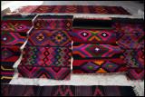 Locally made carpets i Palmyra