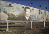 Always present....... Omnipotent president Assad - Palmyra