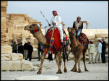 Tourist attraction in Palmyra....