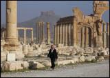 A walk in Palmyra
