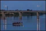 Evening boattrip on Euphrates river