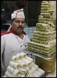 Proud pastry chef