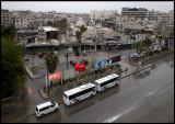A rainy morning in Aleppo