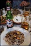 Syrian food enjoyed with Lebanese bear - a nice memory