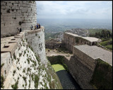 View from top of Krak des Chevaliers