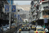 Busy traffic in Damascus