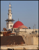 Ummayad mosque and the roofs of old town