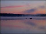 Lake Älgasjön near Älghult - Småland
