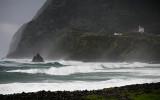 NW storm at Faja Grande - Flores (The Azores)