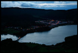 Sete Cidades after sunset
