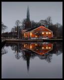 Late afternoon in my hometown Växjö