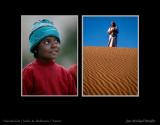 Indian Girl & Yemenit Bedhouin