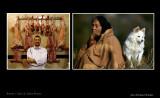 Libyan Butcher & Indian woman