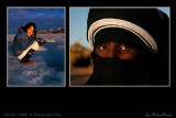 Inuit  girl & Touareg man