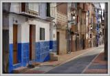 quiet blue street