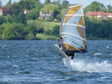 Wind Surfing at Draycote Water