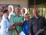 A get together at Steve Murphy's home