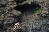 16 Sarah at falls cave 3149