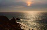 Sunset around San Simeon